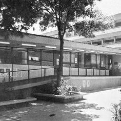 Antigua sede de la Facultad de CPyS. Imagen obtenida de https://es.pinterest.com/franrey/mexico-de-mis-recuerdos/.